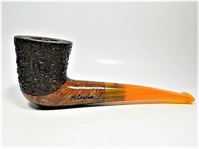 "914 Mastro Cascia pipes, ""WOODSTOCK"" Rustic 360°, Briar, Smoking pipes, H.Made"