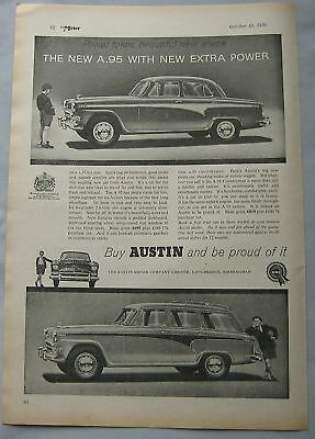 1956 Austin A.95 Original advert