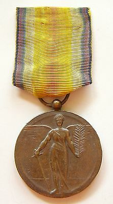 g663 ROMANIA Victory Medal WWI Interallied unofficial version Type 2