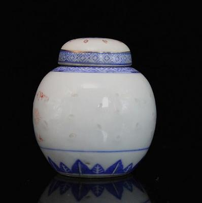 chinese ancient Blue and white porcelain  sculpture flower  pot