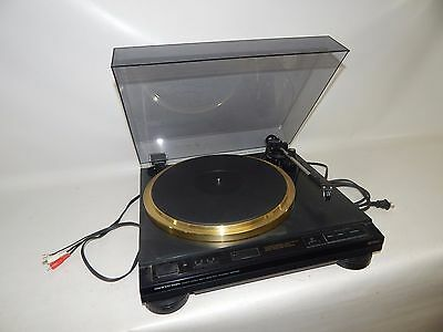 Vtg Onkyo Integra CP-1057F Direct Drive Automatic Turntable Turn Table Works!