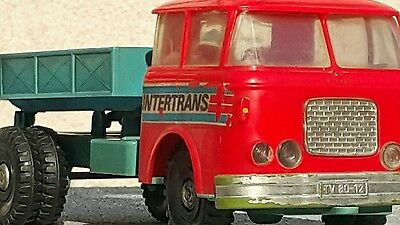 VINTAGE TRUCK VEHICLE SKODA FRICTION PLASTIC Czech Republic POLAND SEE OTHERS