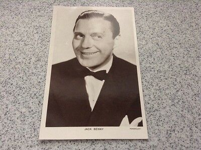Picturegoers Postcard - Jack Benny - Series 85 - Card no 1308 - unused