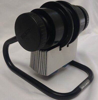 """Rolodex Model 1024X Rotary Vintage Card File Index Cards Tabs 2.25"""" x 4"""""""