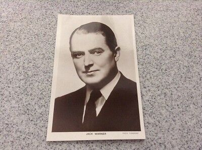 Picturegoers Postcard - Jack Warner - Series 85 - Card no 1363a - unused