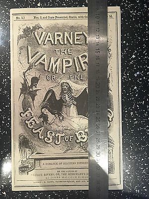 Penny Dreadful Original Varney Prop with LOA