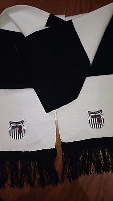 Black And White Grimsby Town Bar Scarf