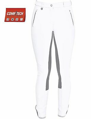 Ladies Competition Breeches Jodhpurs By FairPlay in White Size 14 (Eu 42)