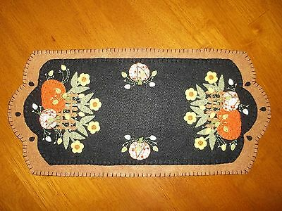 Pumpkins and Vines Table Runner/Candle Mat
