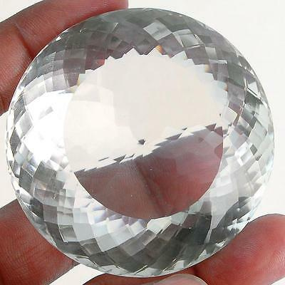 VVS 681 Cts [Certified] Natural White Quartz Priceless AAA Museum Size Gemstone