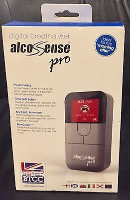 Alcosense Pro Breathalyser Digital Police Breath Alcohol Test Tester Detector