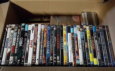 Clearance: Lot of 90 DVD and Blu-ray movies