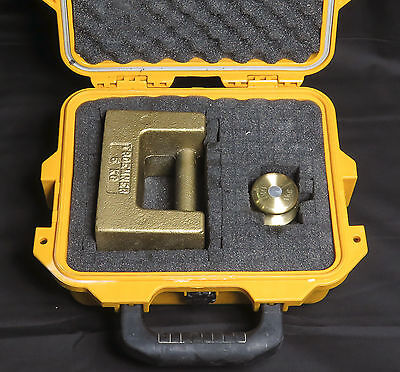 TROEMNER CALIBRATION WEIGHT SET, 1kg + 5kg + HARD CASE