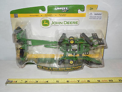 John Deere 637 Disk & 200 Seed Bed Finisher By Ertl 1/64th Scale