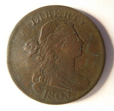 1803 Draped Bust Cent S-250 R-3
