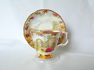 Royal Albert to Celebrate Old Country Roses Bone China Cup & Saucer Set