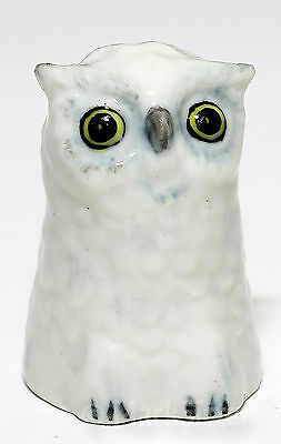 Collectible Finger Ceramic Sewing Animal Owl Bird Thimble - BTH027