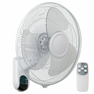 NEW Mercator Athena II 3 Blade Wall Fan with Remote Control