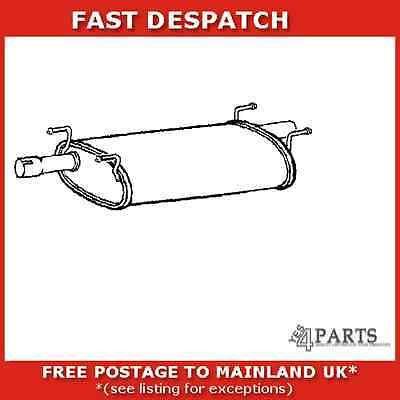 Iv13T 1816 Klarius Middle Silencer For Iveco Daily Iii 2.8 1999-