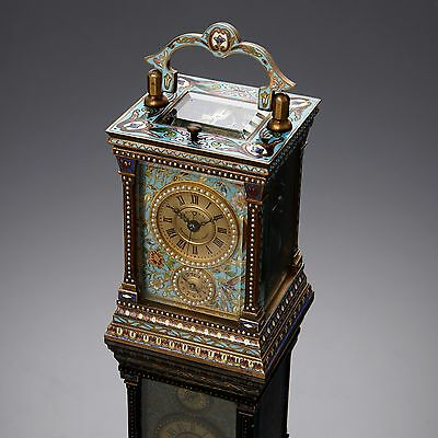 J. Ullmann & Co., Hong Kong and Shanghai and Tientsin mignonette carriage clock