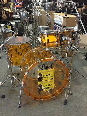 Pearl Crsytal Beat Shell PACK in Tangerine  **RRP $1700**