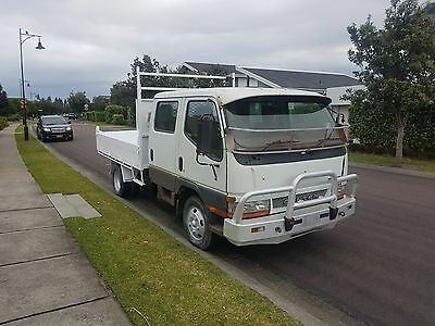>>ONLY 161kms << Mitsubishi Dual Cab Tipper EX COUNCIL not Isuzu Hino Dyna