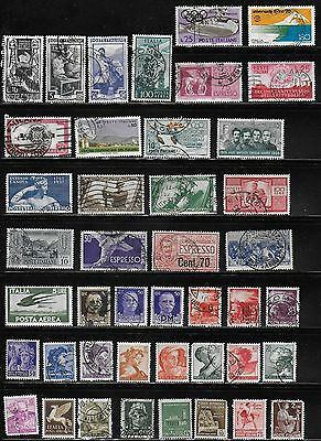 Italy- Large Lot of over 150 Different Used Stamps
