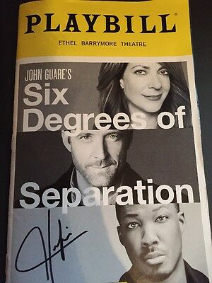 Six Degrees of Separation Broadway Corey Hawkins Autographed Playbill
