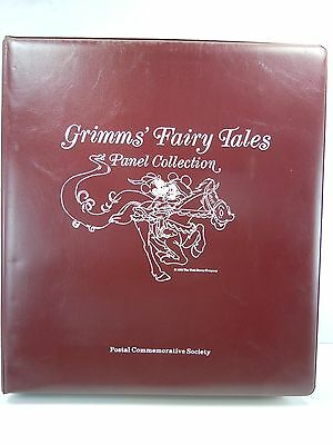 Grimms' Fairy Tales Panel Collection Postal Commemorative Society Stamp Collect.