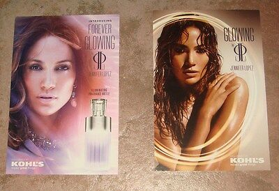 Jennifer Lopez Jlo Glowing Kohl's Promo Cards