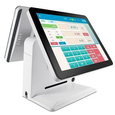 """iPO360 15"""" dual touch screen POS"""