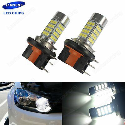 2x H15 64176 Bulbs SAMSUNG LED Daytime Running Light VW Golf GTI MK6 MK7 2008+