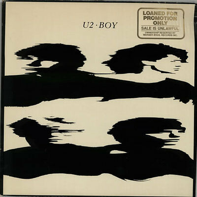 U2 Boy - DJ Stamped vinyl LP album record USA promo ILPS9646 ISLAND 1980