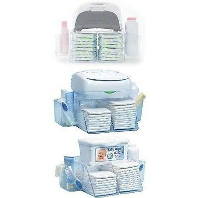 Baby Wipe Warmer Station Diaper Towel Nappy Bag Box Holds 18 to 20 diapers,NEW
