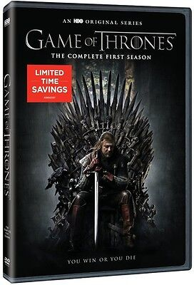 Game Of Thrones: The Complete First Season - 5 DISC SET (2015, REGION 1 DVD New)