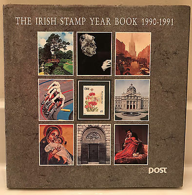 Irish Stamp Year Book 1990 - 1991 Complete W/ Stamps  Edition #1153 of 7000 VG