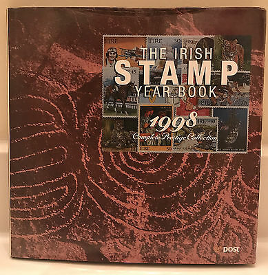 1998 Irish Stamp Year Book Complete W/ All Stamps  Edition #0818 of 3000 VG++