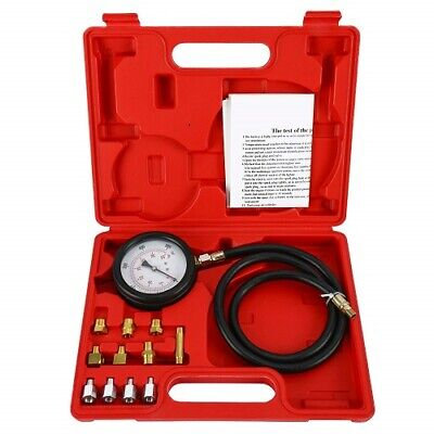 New 13pc Engine Oil Pressure Tester Gauge Diagnostic 500psi Test Kit