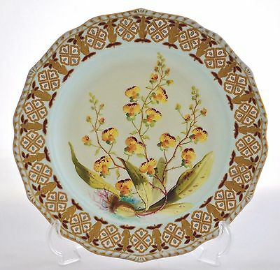 Derby Crown Porcelain Company Ltd (Early Royal Crown Derby) Cabinet Plate C.1878