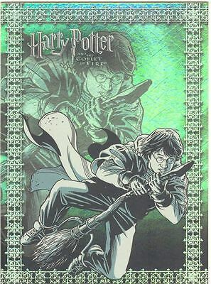 Harry Potter Goblet Of Fire Prismatic Foil Chase Card R4