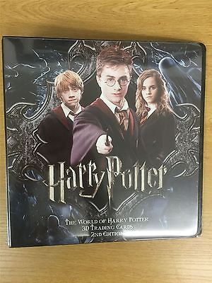 Harry Potter World Of 2nd Edition Official Artbox Binder
