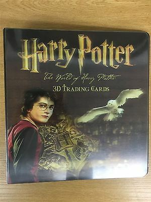 Harry Potter World Of 3D Official Artbox Binder