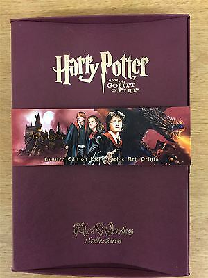 Harry Potter & The Goblet Of Fire Artworks Collection  [Contains 30x A5 Prints]