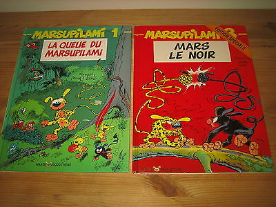 Lot 2 Bd Marsupilami, Tomes 1 Et 3, Marsu Productions