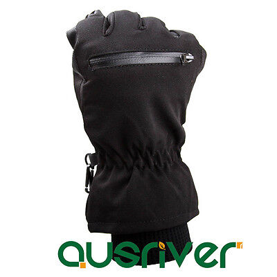 1 Pair x Waterproof Winter Warm Gloves Cotton Horse Comfy Glove Winter Training