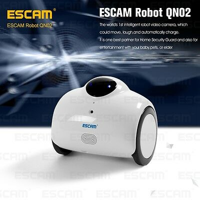 ESCAM QN02 wireless WIFI Camera 720P IP Cam indoor for iPhone iPad Android Mic