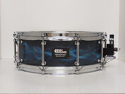 "Snare Stave  Shell 14"" x 5""  Walnut  DMJ Drums"