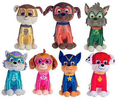 "New Official 12"" Superhero Paw Patrol Pup Plush Soft Toy Nickelodeon Dogs"