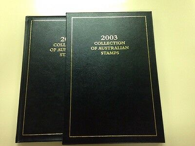 2003 Collection Of Australian Stamps - Album Only - NO STAMPS