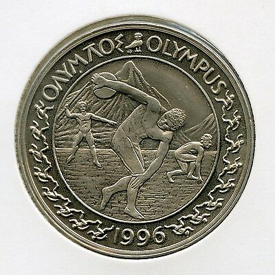 GRIECHENLAND GREECE ? 1196 OLYMPUS Olympic Theme 25 Euro ? Silver Coin